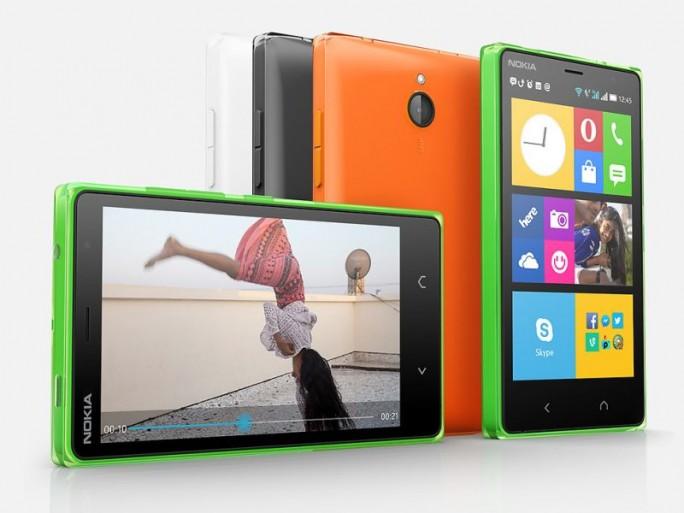 Das Nokia X2 kommt in der zweiten Jahreshälfte 2014 in Deutschland für 129 Euro auf den Markt (Bild: Nokia).