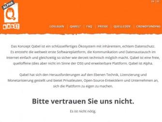 Qabel Website