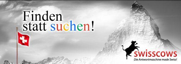 Das Ziel ist klar formuliert: Swisscows will mit semantischer Suche und besserer Privatsphäre der Nutzer auf den Gipfel (Screenshot: ITespresso).
