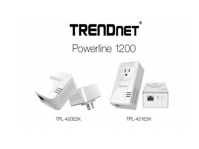 Trendnet Powerline 1200-