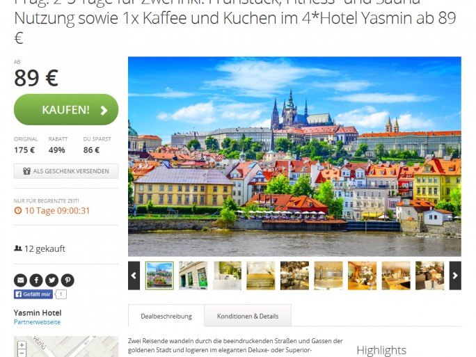 Groupon-Deal-Travel (Screenshot: ITespresso)