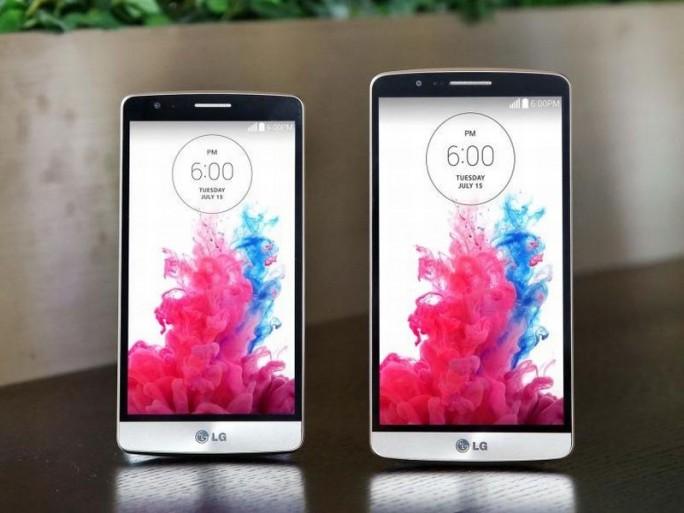Das abgespeckte G3 s (links) und das G3 im direkten Größenvergleich (Bild: LG)