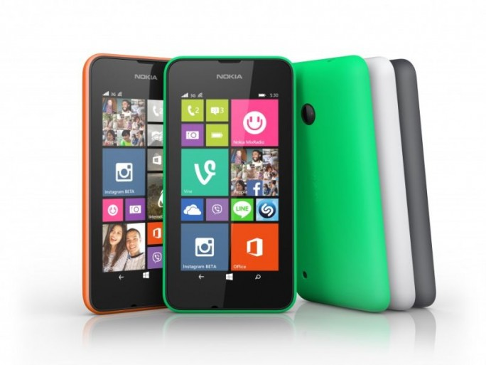 Nokia Lumia 530 (Bild:Microsoft)