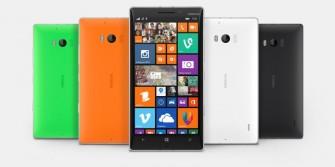 Das Nokia Lumia 930 kommt in Deutschland in allen vier verfügbaren Farben – Schwarz, Weiß, Grün und Orange - zu einer unverbindlichen Preisempfehlung von 579 Euro (ohne Vertrag) in den Handel (Bild: Microsoft).