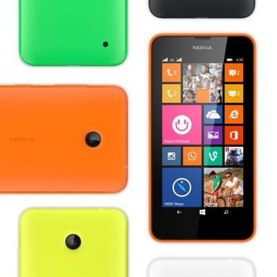 Business wird bunt. Auch das Nokia Lumia 630 lässt sich mit Business-Apps bestücken. Microsoft Office ist ebenfalls vorinstalliert. Der Preis von 159 Euro macht das Smartphone mit dem 4,5-Zoll-Display auch für Unternehmen interessant (Bild: Microsoft).