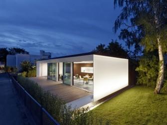 Das Aktivhaus B10 kann nach Terminvereinbarung besichtigt werden (Bild: Zooey Braun, Stuttgart).