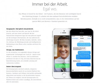 Finden Kommunikationswissenschaftler, Verständlichkeitsexperten und Unternehmensberater gut verständlich: Apples Produktbeschreibungen (Screenshot: ITespresso).