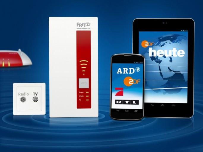 AVM Fritz WLAN Repeater DVB-C (Bild: AVM)