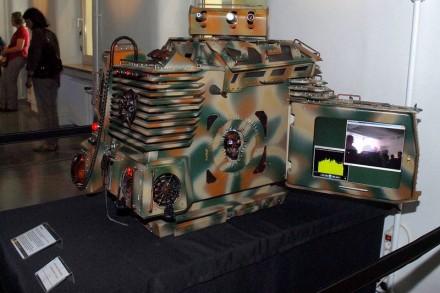 """Das Case-Mod """"Renegade"""" ist mit 58 Kilogramm Abbas schwerstes Gehäuse (Bild: Ali Abbas/Stadtmuseum Schwabach)."""