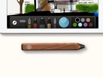 Der Pencil und die App Paper machen das iPad zum Mal-Utensil (Bild: Fiftythree).
