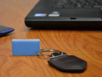 GK-Chain entsperrt Computer via Bluetooth (Bild: Indiegogo).