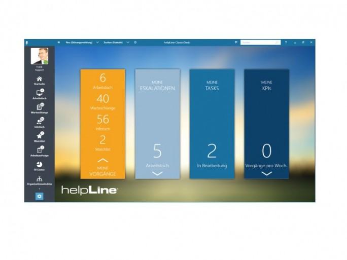 Helpline 6.0 Aufgabenübersicht