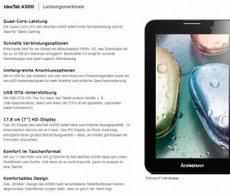 Finden Kommunikationswissenschaftler, Verständlichkeitsexperten und Unternehmensberater schwer verständlich: Lenovos Produktbeschreibungen (Screenshot: ITespresso).