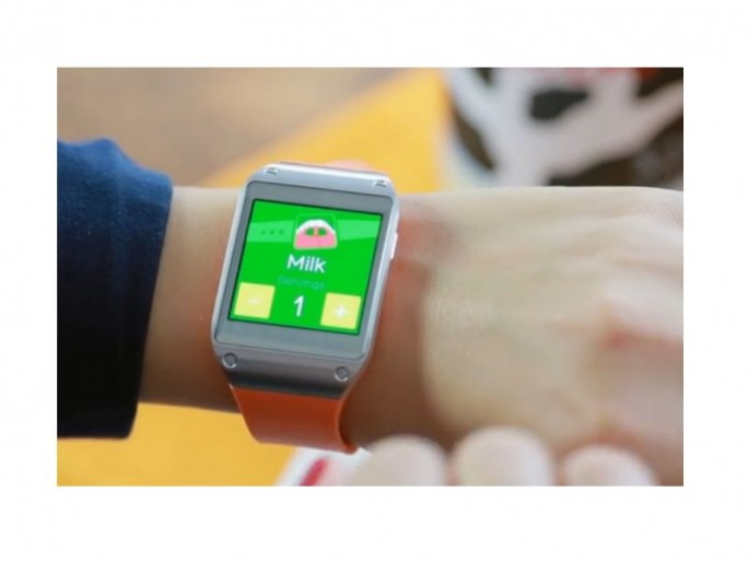 Metaio Smartwatch-Test (Bild: metaio)