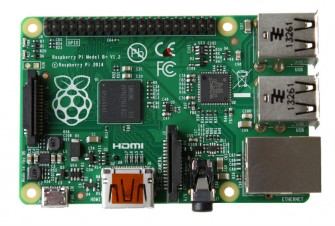 Raspberry Pi Model B+ (Bild: Raspberry)