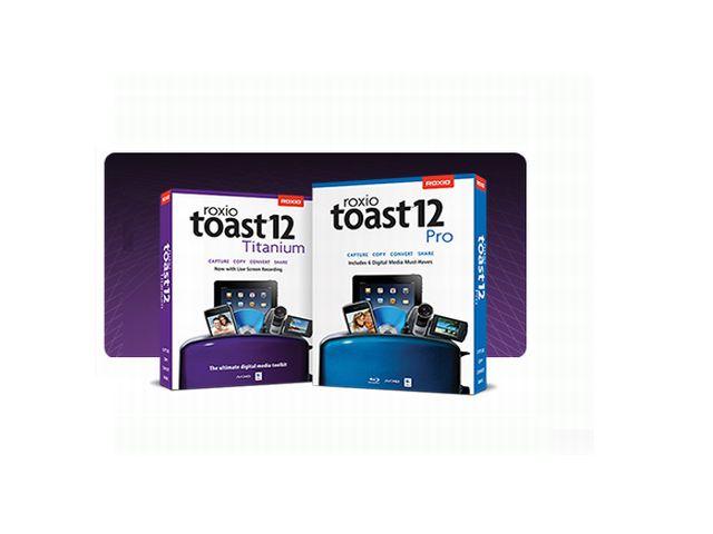 Roxio Toast 12 Packs