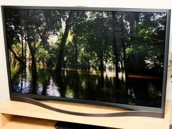 Der PNF8500 wird wohl Samsungs letzter großer Plasma-Fernseher bleiben (Bild: Sarah Tew/CNET).