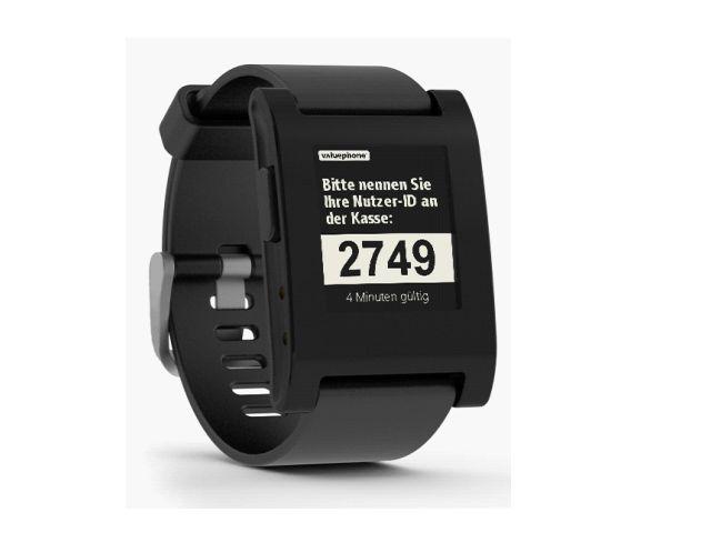 Valuephone überträgt seine Bezahl-App von Smartphones auf Smartwatches (Bild: Valuephone).