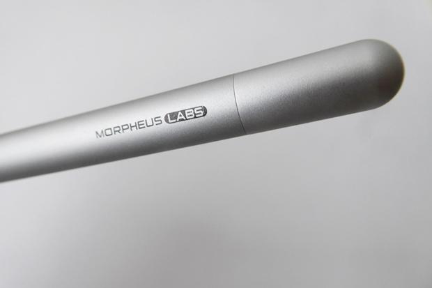 Gut verarbeitet und aus edlem Aluminium gefertigt: der Eingabestift Alpha von Morpheus Labs. (Foto: Mehmet Toprak)