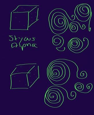 Apps wie Sketchbook helfen beim Zeichnen, Malen und Skizzieren. Die Zeichungen entstanden auf dem 6-Zoll-Phablet Nokia Lumia 1320. Die obere Skizze entstand mit dem Alpha. Ein eindeutiger Vorteil für den Alpha ist nicht zu bemerken. (Screenshot: Mehmet Toprak)