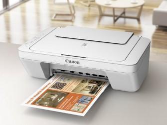 Der Farb-MFP Canon Pixma MG2950 kommt im September für 79 Euro in den Handel (Bild: Canon).