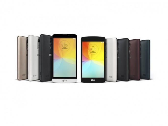 LG L Bello und LG L Fino (Bild: LG Electronics)