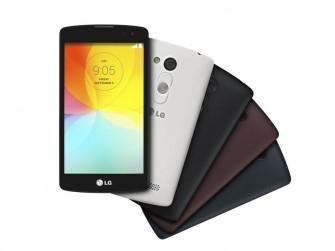 Das Android-Smartphone LG L Fino (Bild: LG).