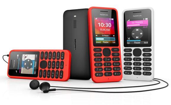 Nokia 130 mit Zubehör