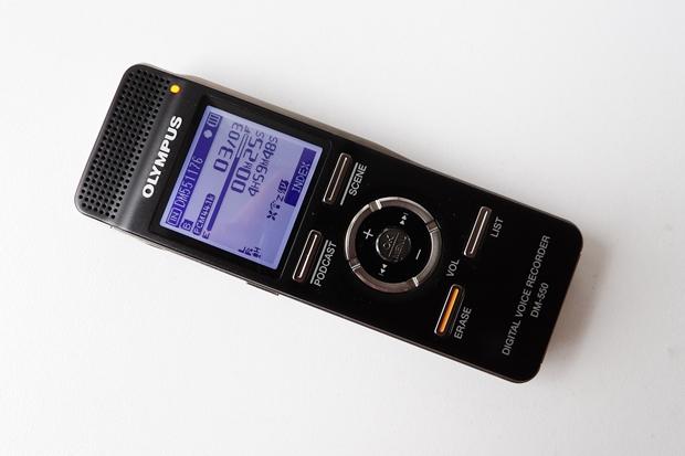 Das Diktiergerät Olympus DM-550 wurde von Nuance für den Einsatz mit Spracherkennung zertifiziert.