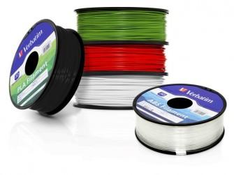Verbatim bietet nun auch Verbrauchsmaterial für 3D-Drucker an (Bild: Verbatim)