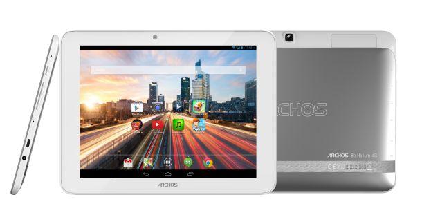Das Archos 80 Helium 4G kommt mit schnellem Mobilfunk, 8 Zoll großem IPS-Display, Aluminiumgehäuse und Android 4.3 (Bild: Archos).