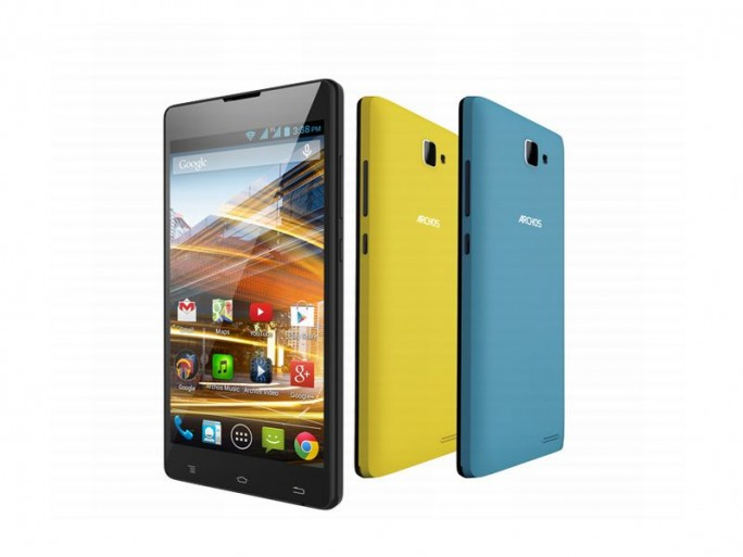 Archos Neon50 mit Covers