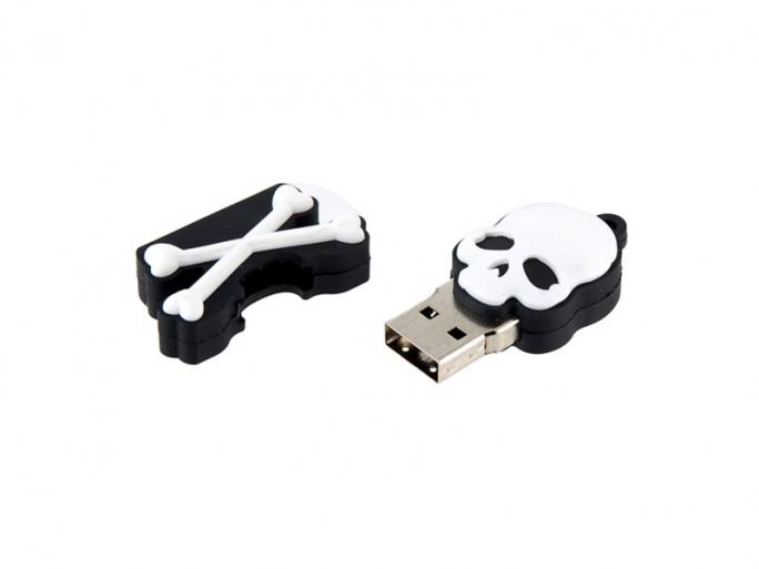 Skull Crossbones USB (Bild: ZDNet.com)