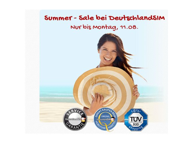 DeutschlandSIM Summer Sale 2014