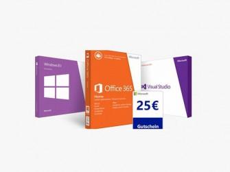 25-Euro-Gutschein Microsoft