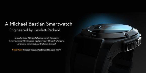 Ankündigung HP Smartwatch