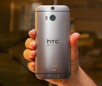 Das HTC One (M8) for Windows kommt mit dem baugleichne Metallgehäuse wie die Android-Varinate (Bild: CNET.com)