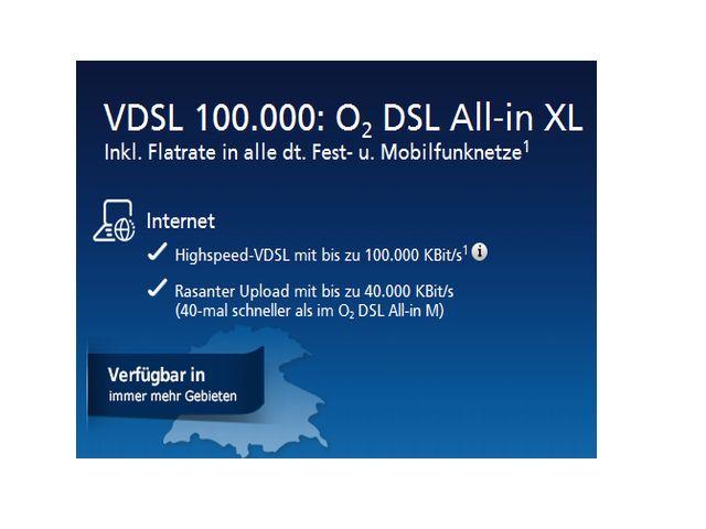 O2 All-in XL VDSL