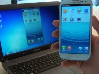 Teamviewer QuickSupport für Android im Einsatz (Bild: Teamviewer)