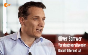 Oliver Samwer im Interview mit dem ZDF (Screenshot: ITespresso).