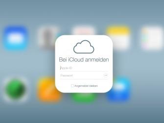 Apple iCloud Anmeldung