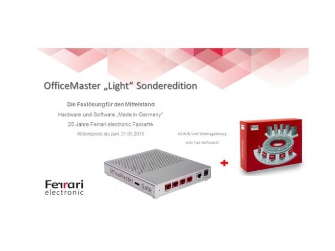 Ferrari Electronic Office Master Light