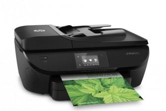 Der HP Officejet 5740 e-All-in-One ist einer der ersten Drucker, der zu dem in Erprobung befindlichen Supplies-Angebot HP Instant Ink kompatibel ist (Bild: Hewlett-Packard).