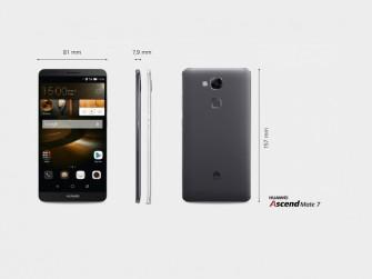 Huawei Ascend Mate 7 (Bild: Huawei)
