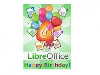 Libreoffice: vierter Geburtstag