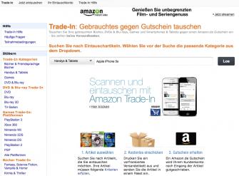 Amazon hat seinTrade-in-Programm auf den Bereich  Elektronik ausgedehnt.