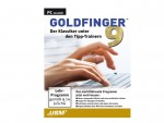Goldfinger 9 lehrt Zehnfinger-Tippen auf der PC-Tastatur
