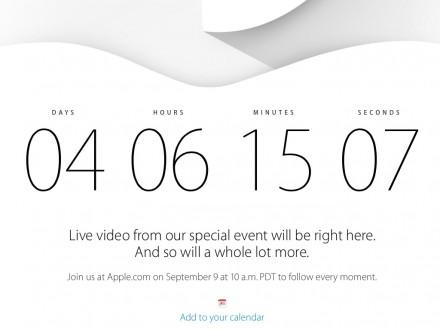 iPhone 6 Live-Stream (Screenshot: ZDNet.de)