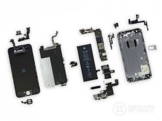 iFixit hat das iPhone 6 Plus vollständig zerlegt (Bild: iFixit).