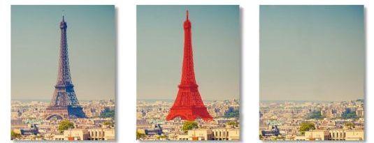 Am Beispiel eines Bildes mit dem Eiffelturm zeigt der Hersteller, wie InPaint 6 funktioniert (Bild Dadagoo)